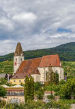 Church of St. Maurice, Spitz, Austria Royalty Free Stock Photos