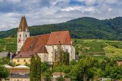 Church of St. Maurice, Spitz, Austria Stock Image