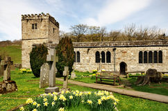 Church of St Michael and All Angels, Hubberholme Stock Photo