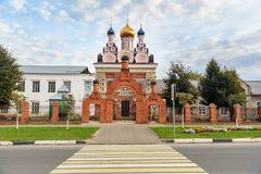 Church of St. Michael the Archange. Taldom. Moscow Oblast, Russia. Church of St. Michael the Archange in Taldom. Moscow Oblast, Russia Stock Photos