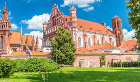 Church of St. Michael the Archangel and the Bernadine Monastery. Royalty Free Stock Photo