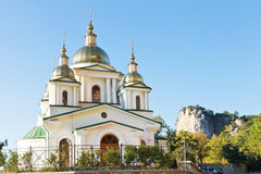 Church of St. Michael the Archangel in Oreanda Royalty Free Stock Photography