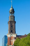 Church St. Michael in Hamburg Stock Photography