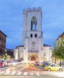 Church of St. Michael in Palencia Stock Photography