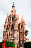 Church of St. Michael, San miguel de Allende. Mexico Royalty Free Stock Image