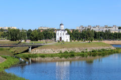 Church of St. Michael of Tver Royalty Free Stock Photos