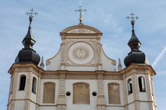 Church of St. Michael in Vilnius, Litnuania stock photo