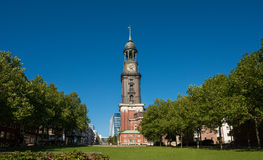 Church St Michaelis Hamburg Royalty Free Stock Photography