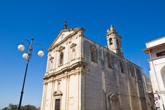 Church of St. Michele Arcangelo. Castellaneta. Puglia. Italy. Royalty Free Stock Image