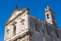 Church of St. Michele Arcangelo. Castellaneta. Puglia. Italy. Stock Images