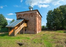 Church of the St Mina in Staraya Russa Royalty Free Stock Photos