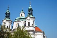Church of St. Nicholas. In Prague, Czech Republic Royalty Free Stock Photography