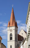 Church St. Nicholas. In Znojmo Royalty Free Stock Images