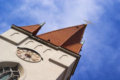 Church St. Nicholas. In Znojmo Stock Images