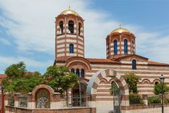 Church of St. Nicholas in Batumi royalty free stock photos