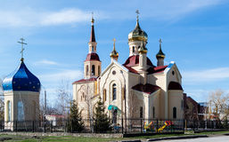 Church of St. Nicholas in Cimlanske royalty free stock photos
