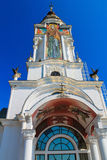 The Church of St. Nicholas in the Crimea that serves as a beacon Stock Photos