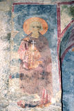 Fresko in the Church of St. Nicholas in Demre Turkey Stock Images