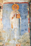 Fresko in the Church of St. Nicholas in Demre Turkey Stock Photography