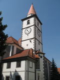 Church of St. Nicholas Stock Photography