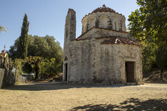 The Church of St. Nicholas, Greece Stock Photos