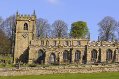 Church of St. Nicholas High Bradfield Stock Photography