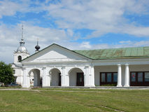 Church of St Nicholas and Holy Cross in Suzdal Russia royalty free stock image