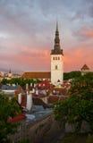 Church St. Nicholas In Tallinn, Estonia Royalty Free Stock Photos