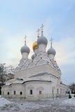 Church of St. Nicholas of Myra in Pyzhi, Malaya Ordynka, Mosco Stock Photo