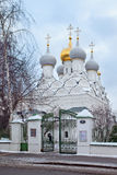 Church of St. Nicholas of Myra in Pyzhi, Malaya Ordynka, Mosco Royalty Free Stock Photos