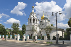 Church of St. Nicholas of Myra in Pyzhi Stock Photography