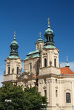 Church of St. Nicholas in Old Town Square, Prague Royalty Free Stock Photo
