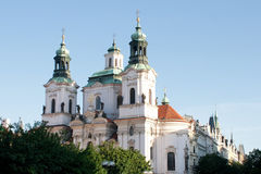 The Church of St. Nicholas in Prague Royalty Free Stock Photos