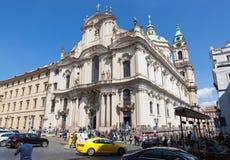 Church of St. Nicholas, Prague Stock Photography