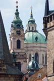 Old city. City landscape. Roofs, towers. Prague, Czech Republic royalty free stock photo