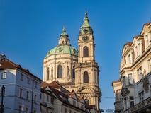 Church of St Nicholas in Prague royalty free stock photos