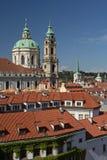 Church of St. Nicholas in Prague Stock Photo