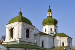 The Church of St. Nicholas Prytysk in Kiev, Ukraine. Stock Photos