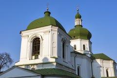 The Church of St. Nicholas Prytysk in Kiev, Ukraine. Royalty Free Stock Image