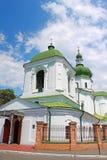 The Church of St. Nicholas Prytysk in Kyiv, Ukraine Stock Photos