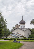 The Church of St.Nicholas, Pskov Stock Images