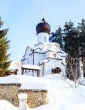 Church of St. Nicholas. Resort Belokurikha. Altai Stock Images