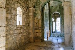 Church of St. Nicholas Santa Claus in Demre, interior, Turkey. This is an ancient Byzantine church Stock Photography