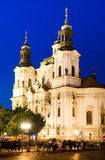 Church of St Nicholas in Stare Mesto, Prague Royalty Free Stock Image