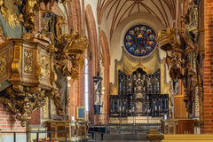 Church of St. Nicholas, Stockholm Stock Image