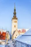 Church of St. Nicholas in Tallinn, Estonia Royalty Free Stock Images