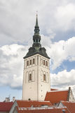 Church St. Nicholas in Tallinn, Estonia royalty free stock images
