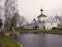 The Church of St. Nicholas in the Tolgsky Monastiriou. Zolotoe ring of Russia Royalty Free Stock Photography