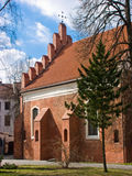 The Church of St Nicholas in Vilnius Royalty Free Stock Photography
