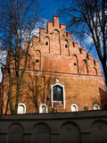 The Church of St Nicholas in Vilnius Royalty Free Stock Images